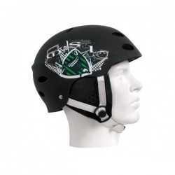 MYSTIC Crow helmet Black green L
