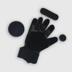 Manual sliding gloves L
