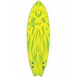 softech mason twin 5'6 lime/yellow