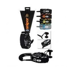 Sniper Deluxe Biceps L-XL Coiled Leash
