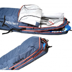prolimit windsurf Boardbag Session Black/Blue 238/60