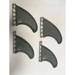 BWS set quad fins honeycomb Future