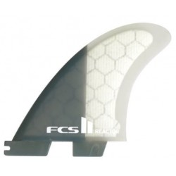 FCS II Reactor Charcoal Tri fin Set medium