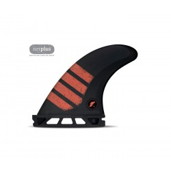 Futures thruster F4 ALPHA SERIES CARBON RED