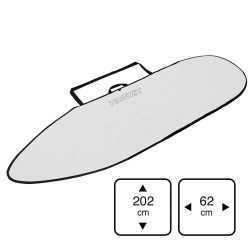 Howzit housse Shortboard 6'4 white