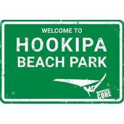 PLAQUES METAL SURFPISTOL HOOKIPA
