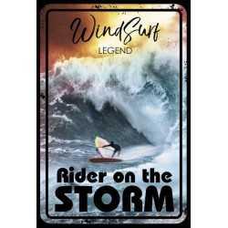 PLAQUES METAL SURFPISTOL WINDSURF LEGEND