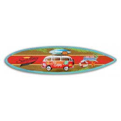 Tableau Wood Surfing Mini Bus