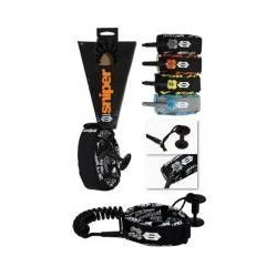 Sniper Deluxe Biceps Coiled Leash