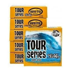 Surf wax Sticky Bumps Tour Series warm/trop 2 3x plus collante