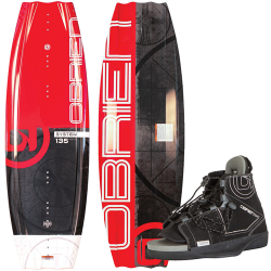 Wakeboard Obrien pack System 135 + Chausse Clutch 37/41