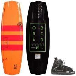 Wakeboard Obrien pack Valhalla 143 + Clutch 45/4mm8
